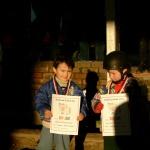2003 - naše první jezdecké hry, Jiřík Skřivan a Lucinka Šrámková